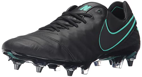 separation shoes a72f6 e7c82 Nike Men's Tiempo Legend VI SG-Pro Football Boots, Black, 9 ...