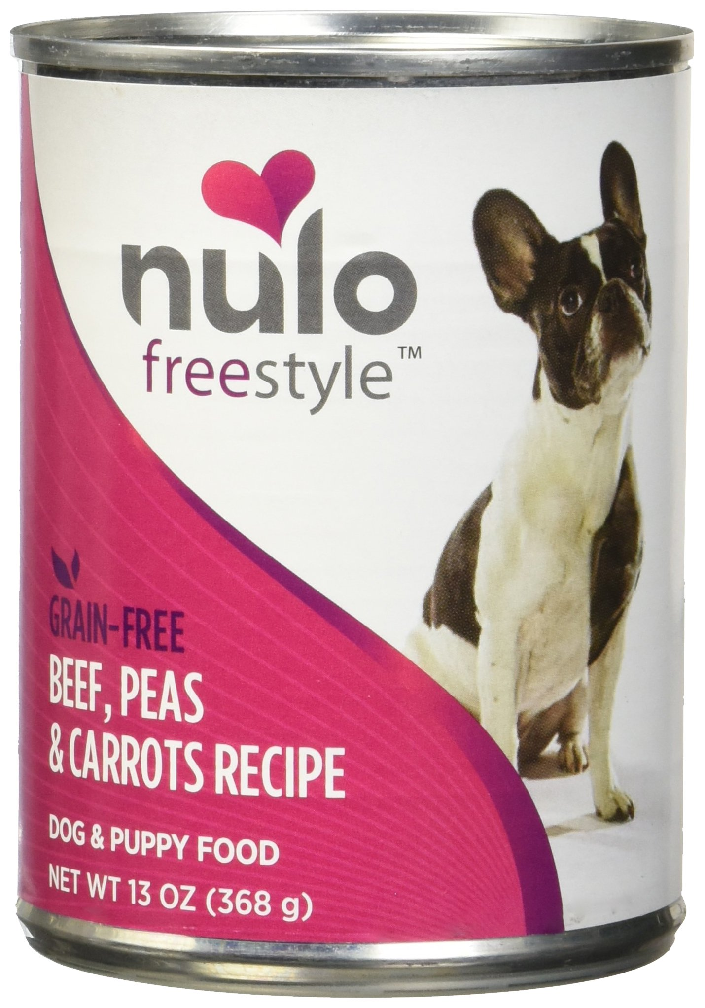 Nulo Freestyle Beef & Vegetables Recipe Can Dog, 12/13 Oz by Nulo