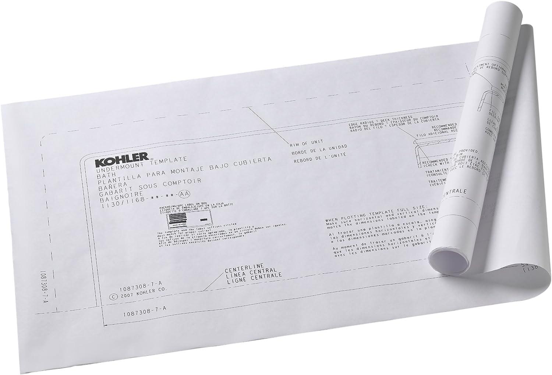 Kohler K-591-NA Underscore 5.5Ft Undermount Installation Kit Not Applicable