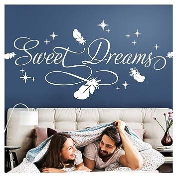 Wandtattoo Spruch Sweet Dreams süße Träume Wandaufkleber Wandsticker Aufkleber