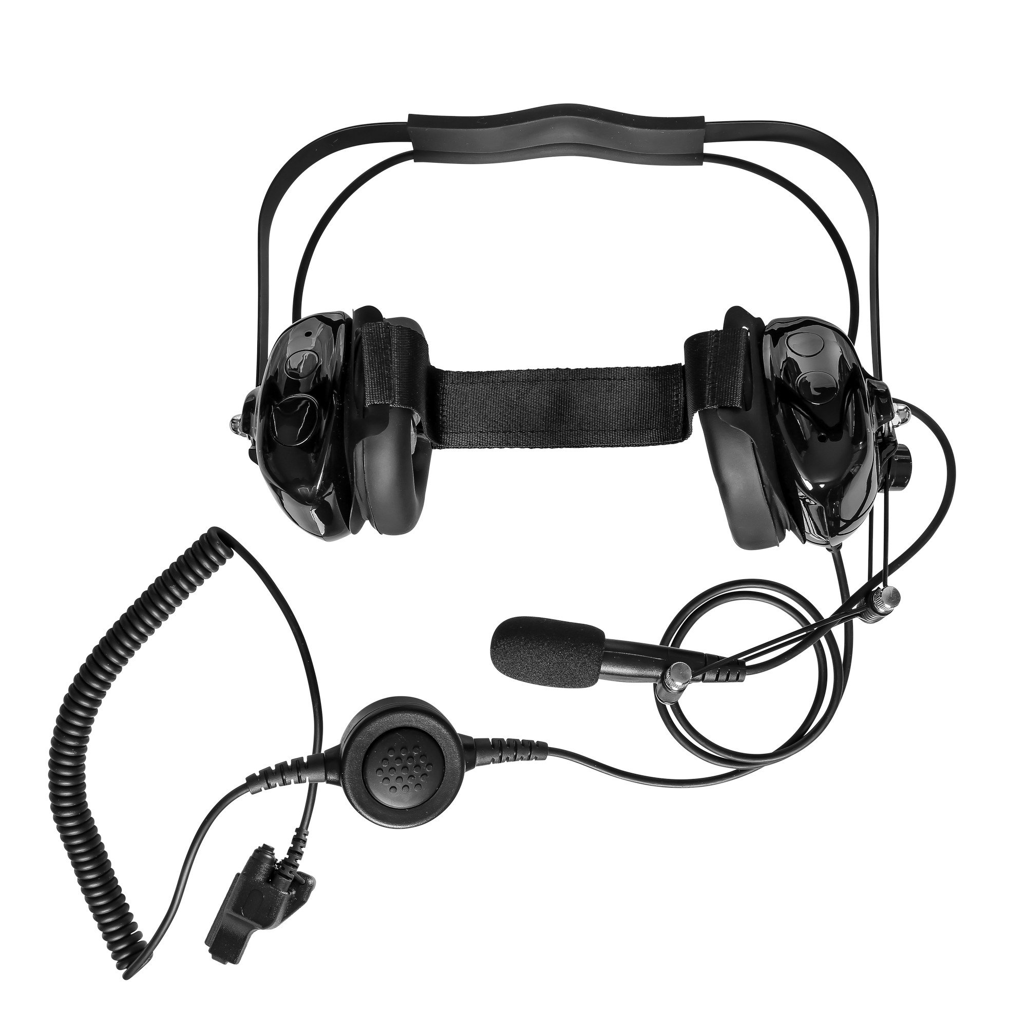 Maxtop AHDH0032-BK-M7 Two Way Radio Noise Cancelling Headset for Motorola HT-1000 MT2000 MT2100 MT6000 MTS2000 XTS2500 by MAXTOP (Image #1)