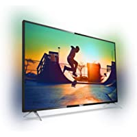 Philips 6000 series 4K Ultra Slim Smart LED TV with Pixel Precise Ultra HD 50PUT6233/56