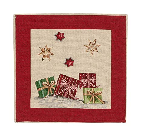 Schwar Textilien - Funda de cojín y Manta, diseño navideño ...