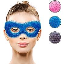 Amazon.com: Antifaz terapéutico para ojos calientes o fríos ...