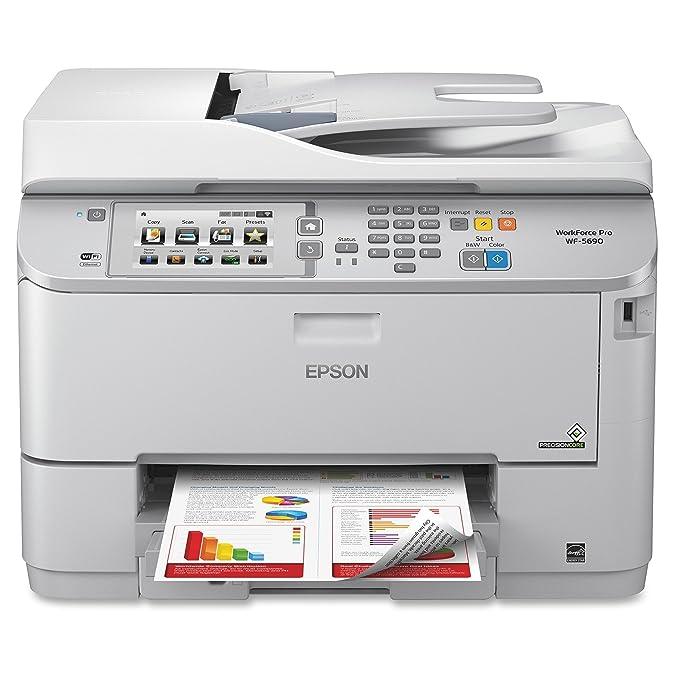 Amazon.com: Epson WorkForce Pro WF-5690 – Impresora ...