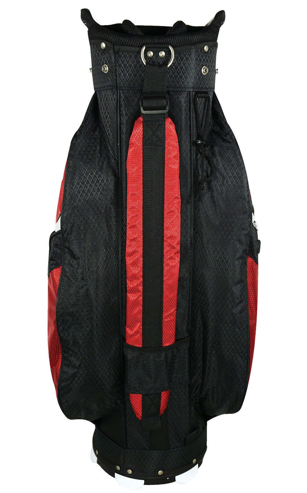 Hot-Z Golf 4.5 Cart Bag, Black/Red
