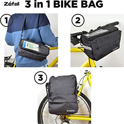 Zefal Smart 3 in 1 Bike Bag Storage with phone sleeve ***BRAND NEW***