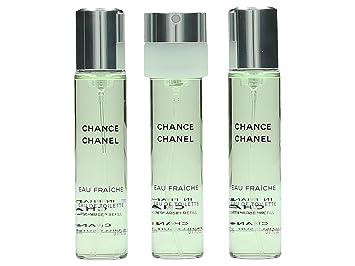 Image Unavailable. Image not available for. Color  Chanel Chance Eau  Fraiche Twist   Spray Eau De Toilette Refill 3x20ml cc820f6d4f