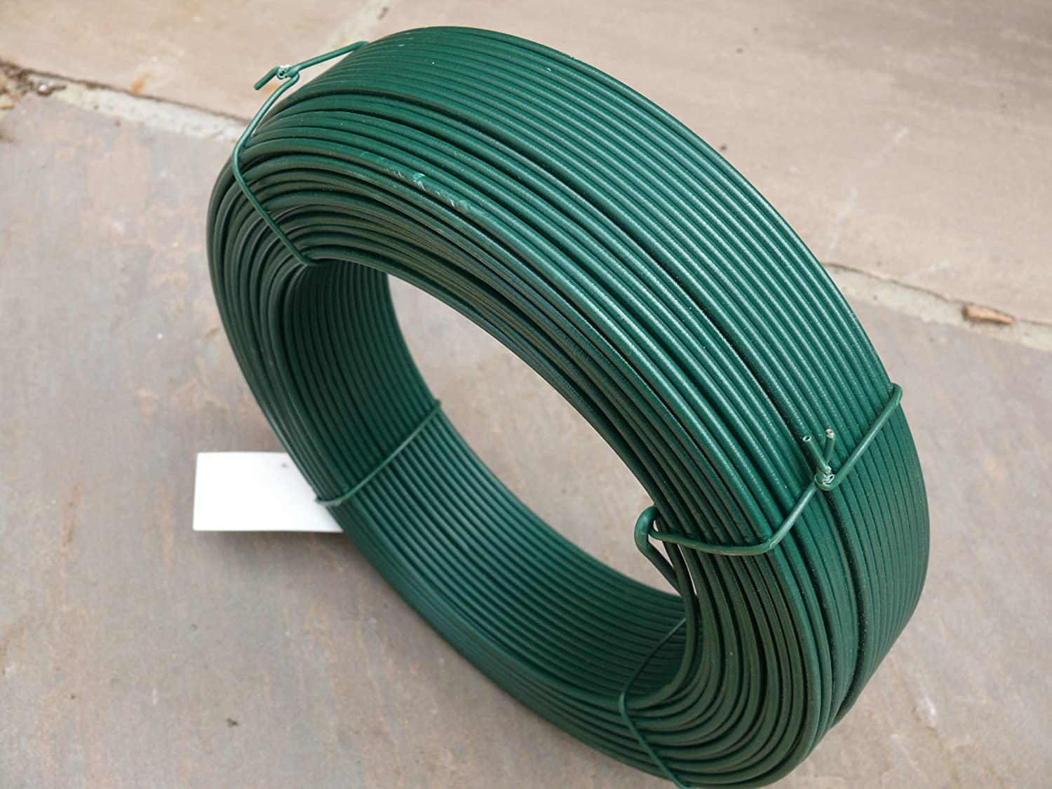 Straining Line Fencing Wire 2.5mm x 100mm PVC Coated Steel Cable ...
