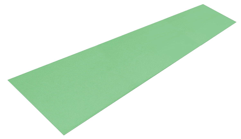 シンエイテクノ ダイヤロングマット(すべり止めマット) グリーン 2m B06W9L8G9J 2.0m グリーン グリーン 2.0m