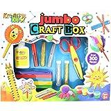 Kandy Toys 300 Piece Jumbo Craft Box