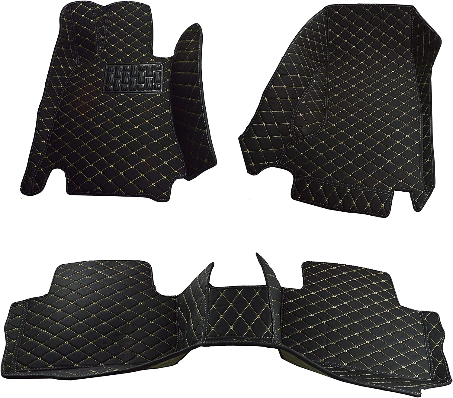 All Weather Heavy Duty Full Coverage Floor Mat Floor Protection Custom Fit Black Single Layer Made in USA Front and Rear for 2019 2020 Audi Q3 SUV