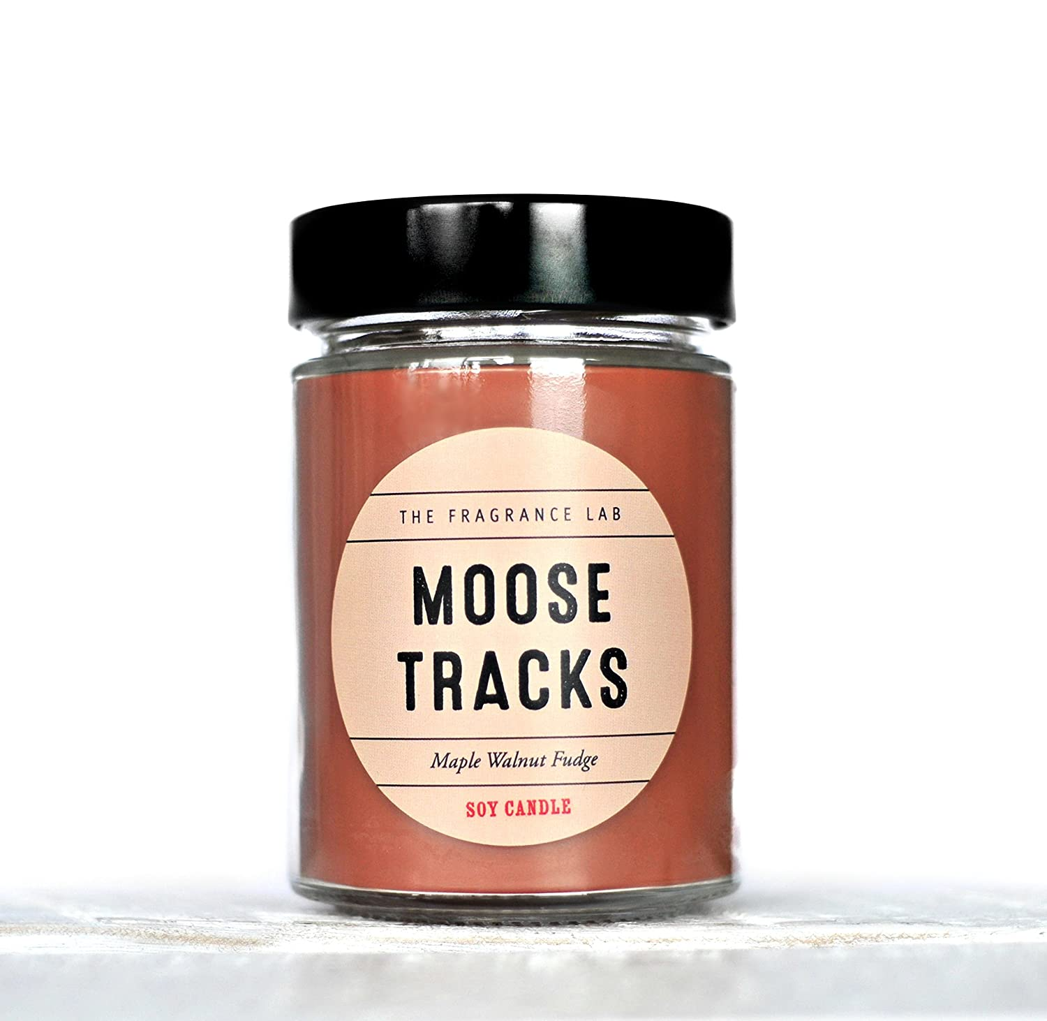 Soy Candle -Moose Tracks Maple Walnut Fudge Scented | The Fragrance Lab