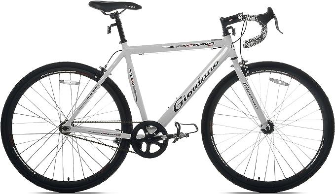 Giordano Rapido Sola Velocidad Bicicleta de Carretera, Blanco ...