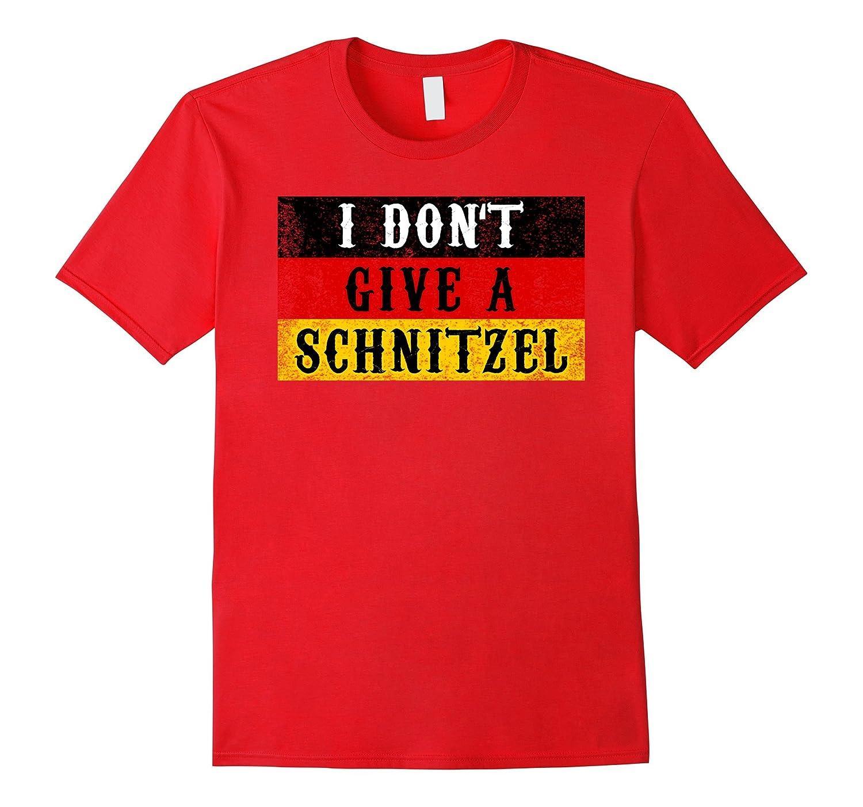 Funny Schnitzel Oktoberfest Shirt German Flag Gift-BN