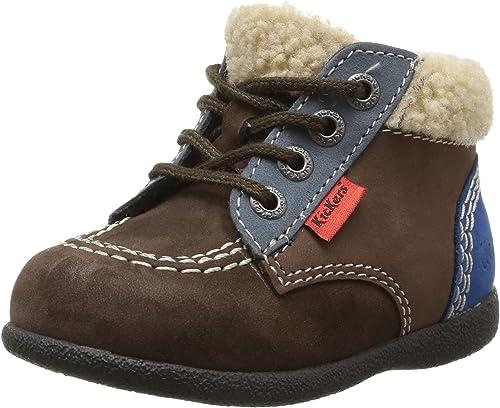 BABYCHO Chaussures premiers pas bordeauxorange