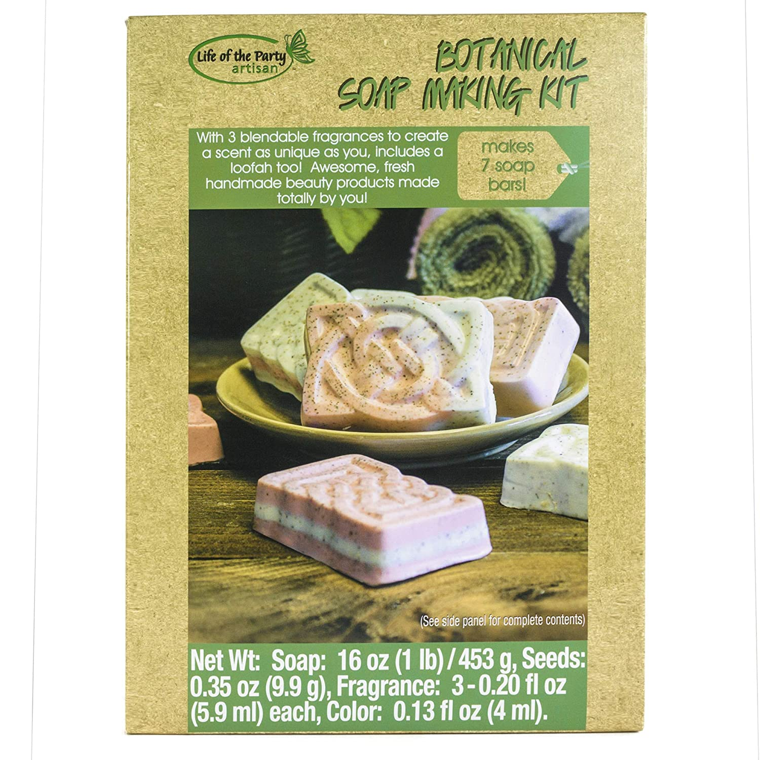 Life of the Party Botanical Soap Making Kit, 57035