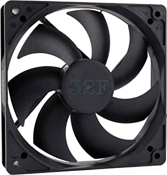 32F Ventilador 120 mm 120 x 120 x 25 1500 RPM 48 V 0,16 A DC Air ...