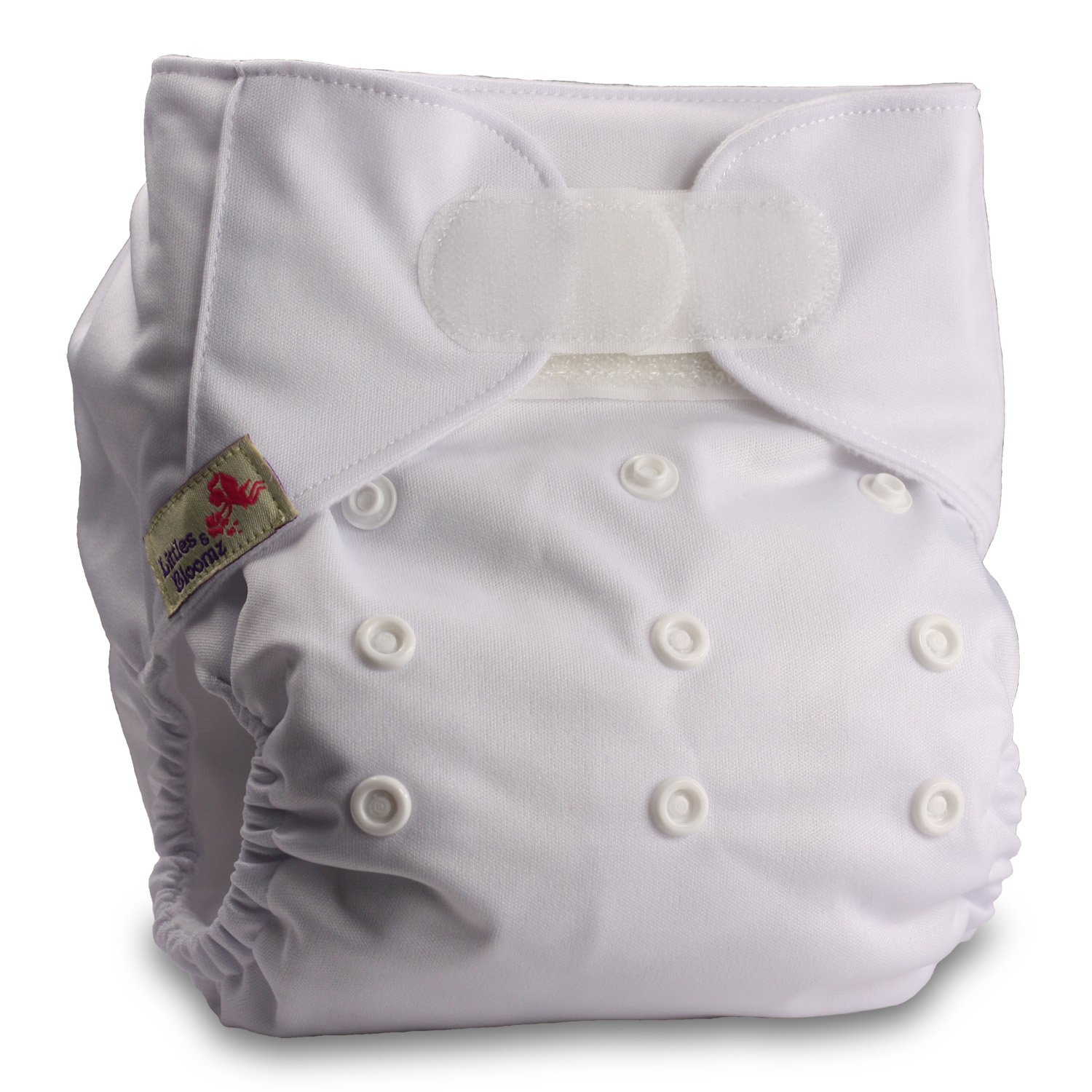 Fastener: Hook-Loop Reusable Pocket Cloth Nappy Set of 3 with 6 Bamboo Inserts Patterns 316 Littles /& Bloomz