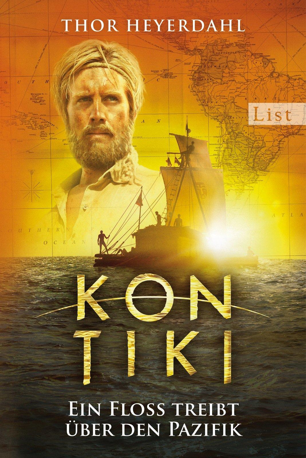 Kon-Tiki: Ein Floß treibt über den Pazifik Taschenbuch – 8. März 2013 Thor Heyerdahl Karl Jettmar List Taschenbuch 354861115X
