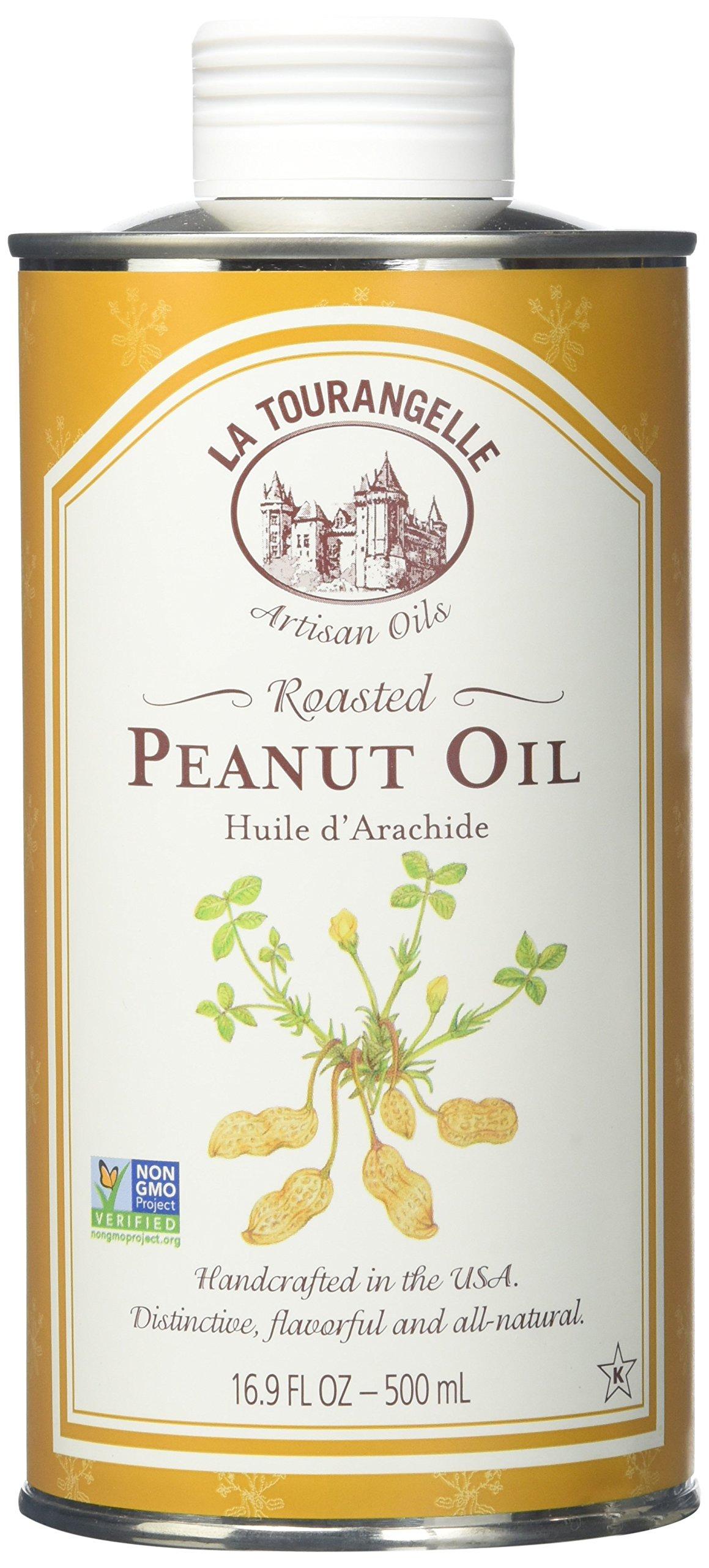 La Tourangelle Roasted Peanut Oil 8.45 oz (Pack of 6) by La Tourangelle Roasted Peanut Oil