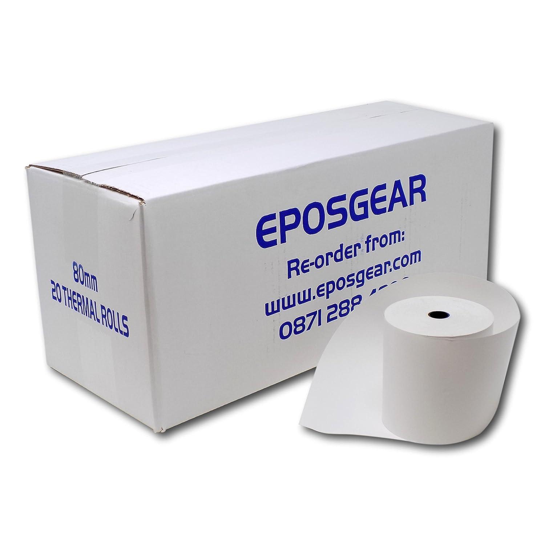 EPOSGEAR® (Pack 20) Star TSP100 Thermal Rolls