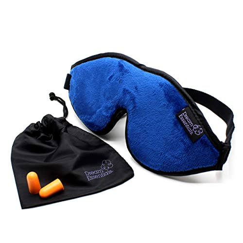 Dream Essentials Escape Sleep Mask with Earplugs and Carry Pouch
