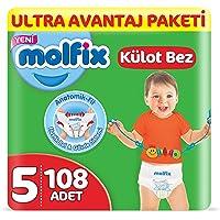 Molfix Külot Bez, Junior 5 Beden, Ultra Avantaj Paketi 108 Adet