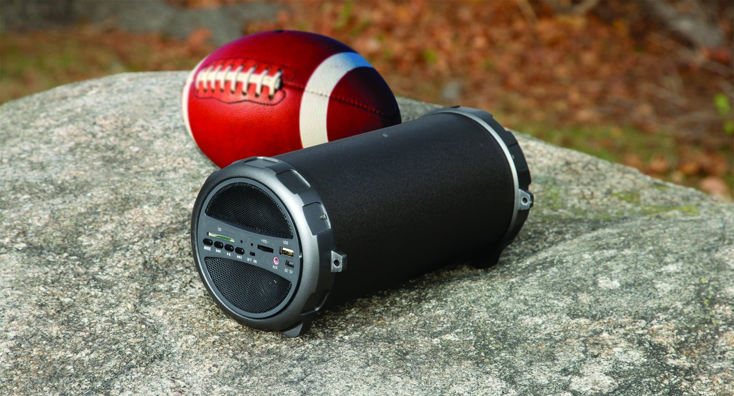 Splash Proof Indoor Outdoor Wireless Bluetooth Speaker