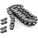 PGN - #40 Roller Chain x 10feet + 2 Free Connecting Links