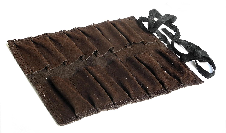 Rouleau à outil 14 poches en cuir Narex NAR899600