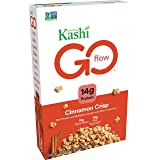 Kashi GO Cinnamon Crisp Breakfast Cereal - Non-GMO Project Verified Project Verified, Vegan, 14 Oz Box (Pack of 4 Boxes)