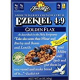 Food For Life Cereal Ezekiel 4:9 Golden Flax, 16 OZ
