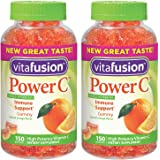 Vitafusion Power C, qrjJd Gummy Vitamins For Adults - 150 Count (2 Pack)