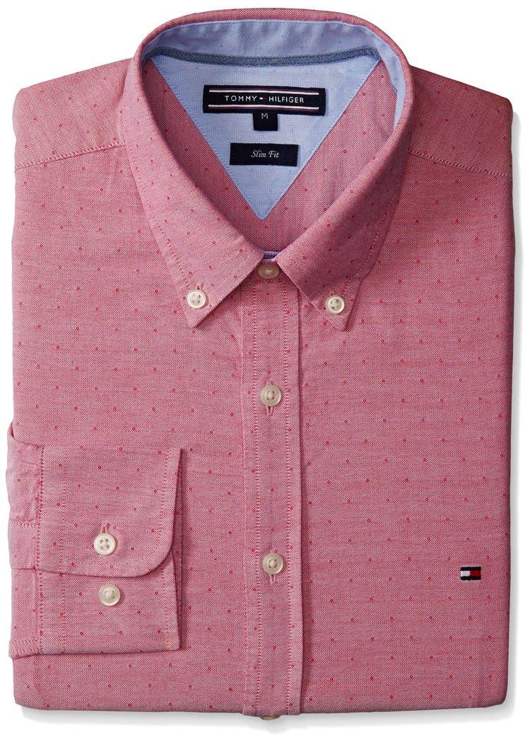 Tommy Hilfiger 857893927 Camisa de Vestir para Hombre: Amazon.com.mx ...