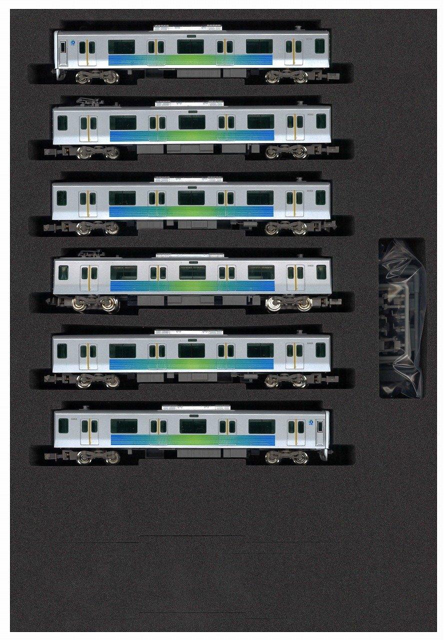 グリーンマックス Nゲージ 4719 西武30000系 30102編成 新宿線 基本6両編成セット (動力付き) B00Q7TDIHU
