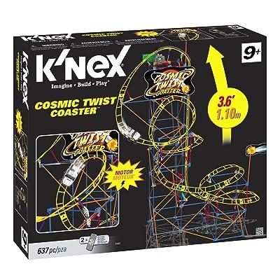 K'NEX Cosmic Twist Coaster: Toys & Games