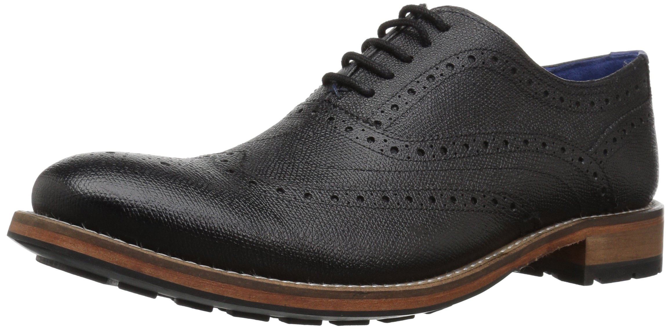 Ted Baker Men's Guri 9 Oxford, Black, 10 M US