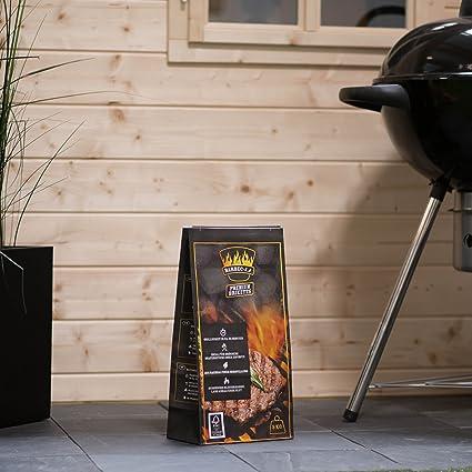 Barbec-U Premium 200100001189 Carbón para Barbacoa, Negro, 50x23x13 cm: Amazon.es: Jardín