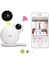 iBaby M7 Baby Monitor 1080P with Thousands of lullabies & Bed Stories, Motion and Cry Alert, Temperature & Humidity...