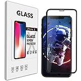 Amorno iphone x ガラスフィルム フィルム x iphone x 液晶保護フィルム アイフォン x ガラスフィルム 9H強化ガラス 全面衝保護 フルセット 液体保護フィルム 高透過率 防指紋 気泡レス スムースタッチ