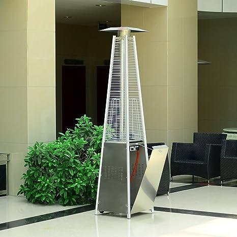 Calentador de gas para patio, jardín, estufa al aire libre, 40.000