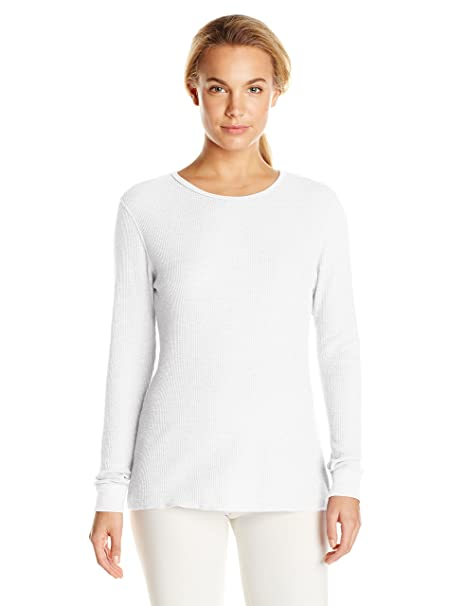 d81c670774c62d Fruit of the Loom Women s Waffle Thermal Underwear Top  Amazon.ca  Clothing    Accessories