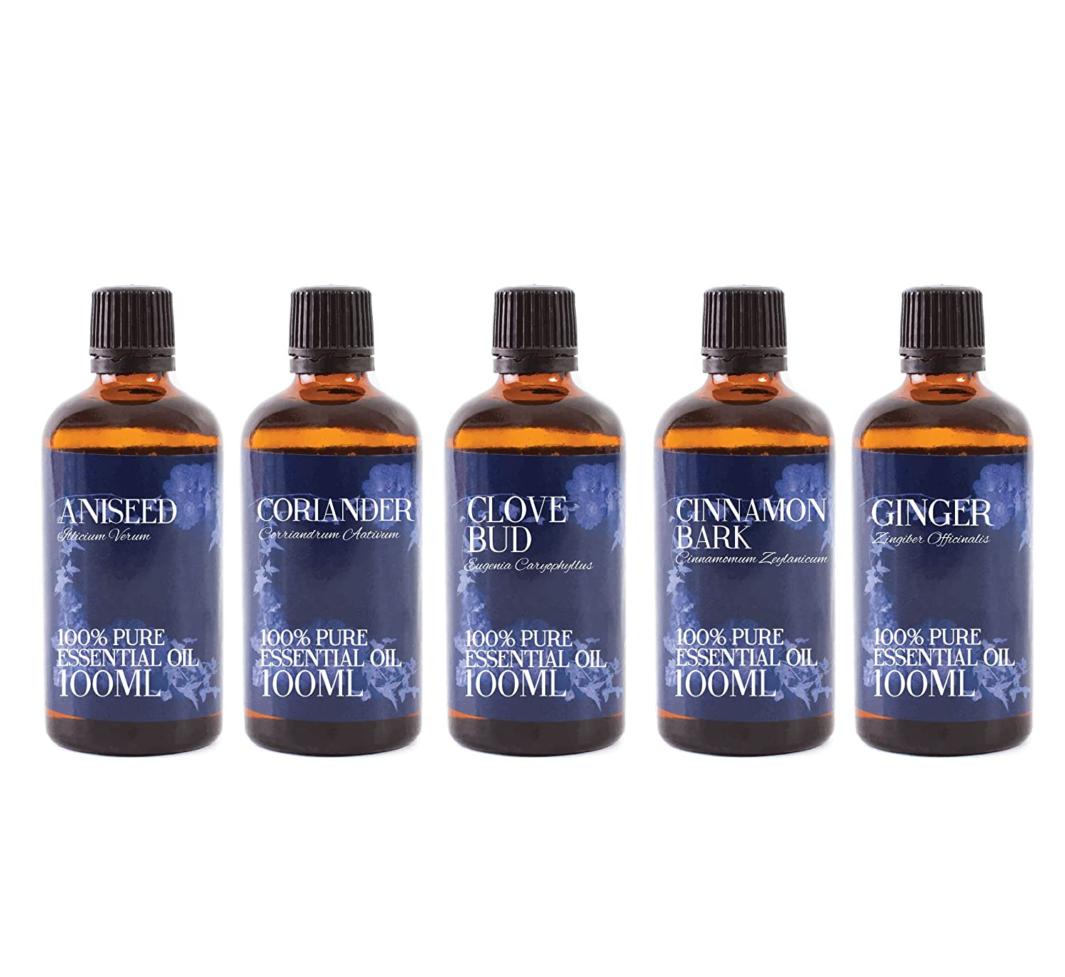 Mystic Moments   Gift Starter Pack of 5 x 100ml Spice Essential Oils B01KHXBATE