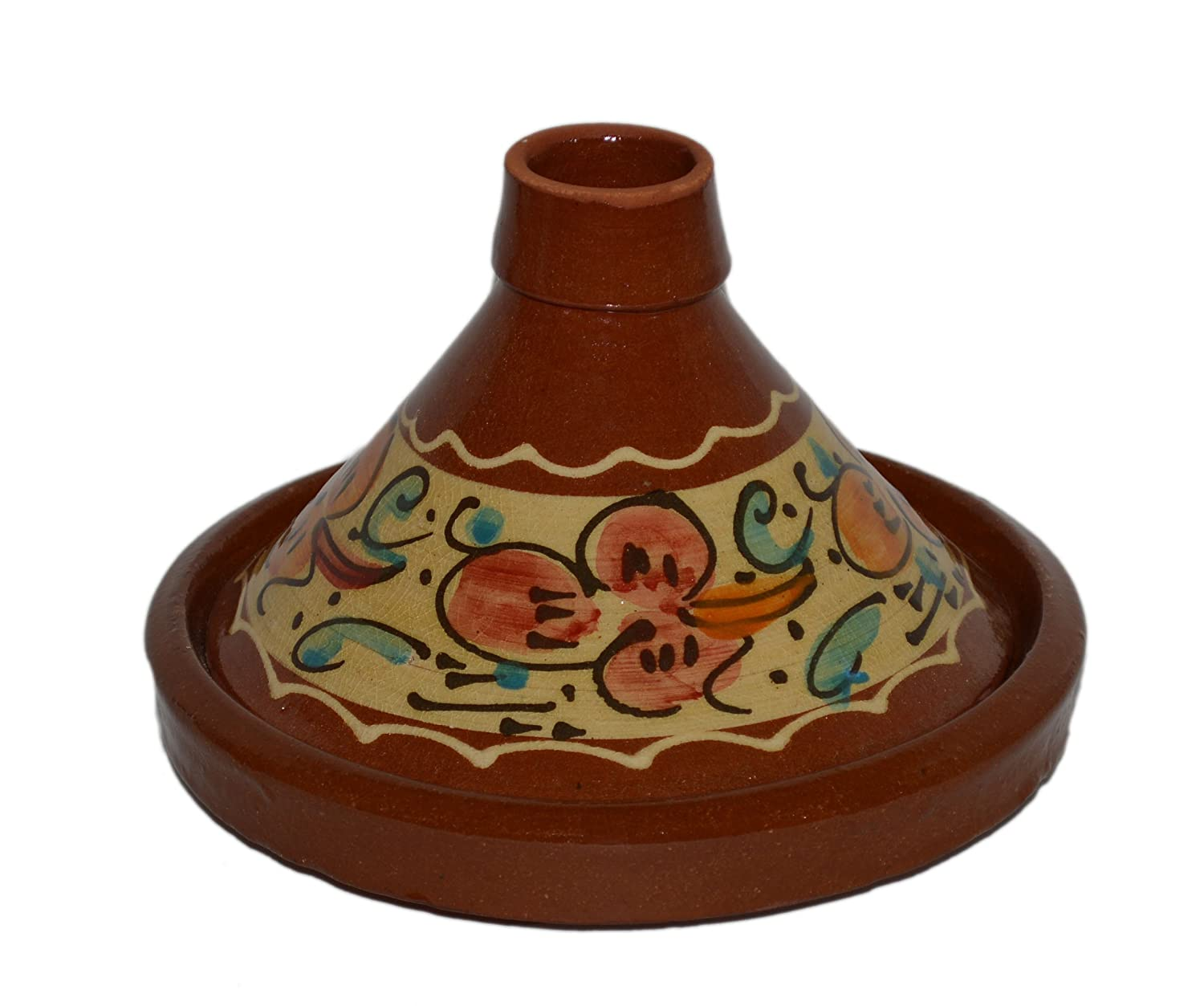 Moroccan Small Cooking Tagine Lead free. by Hand Made Treasures Of Morocco Cooking Tagines