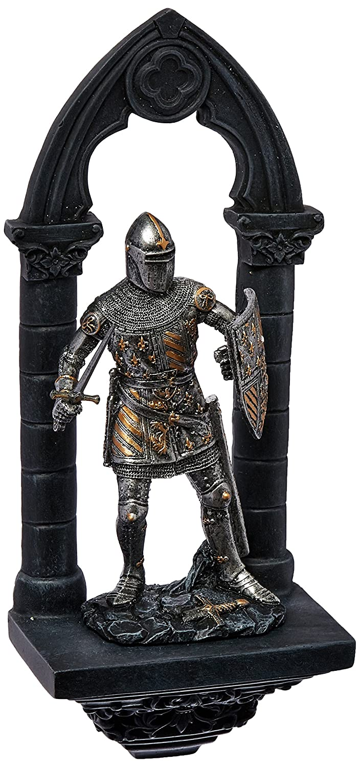 Design Toscano CL955951 Knights of the Realm 3-Dimensional Wall Sculpture Set
