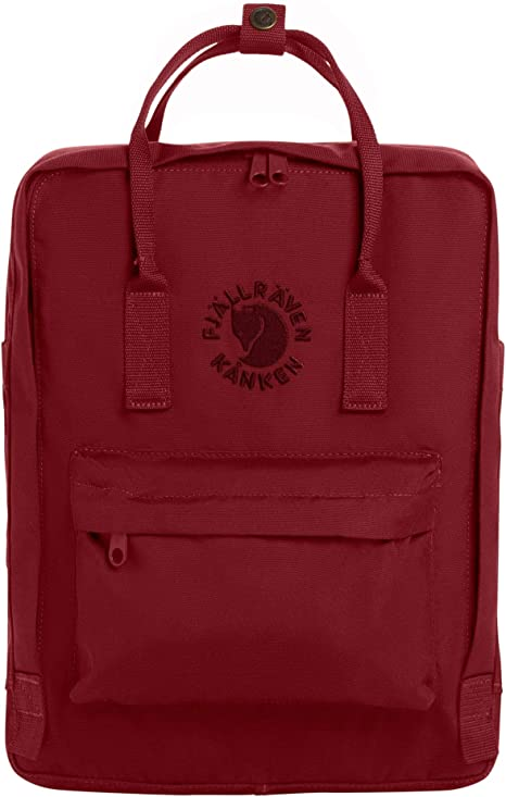 Fjallraven Re-Kånken Backpack, Unisex Adulto, ox Red, Talla única