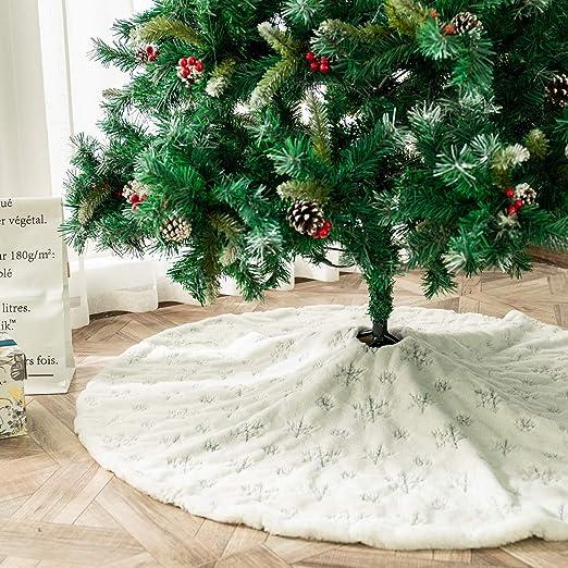 PICTURESQUE Falda de Árbol Navideño Falda Decoración para Navidad ...