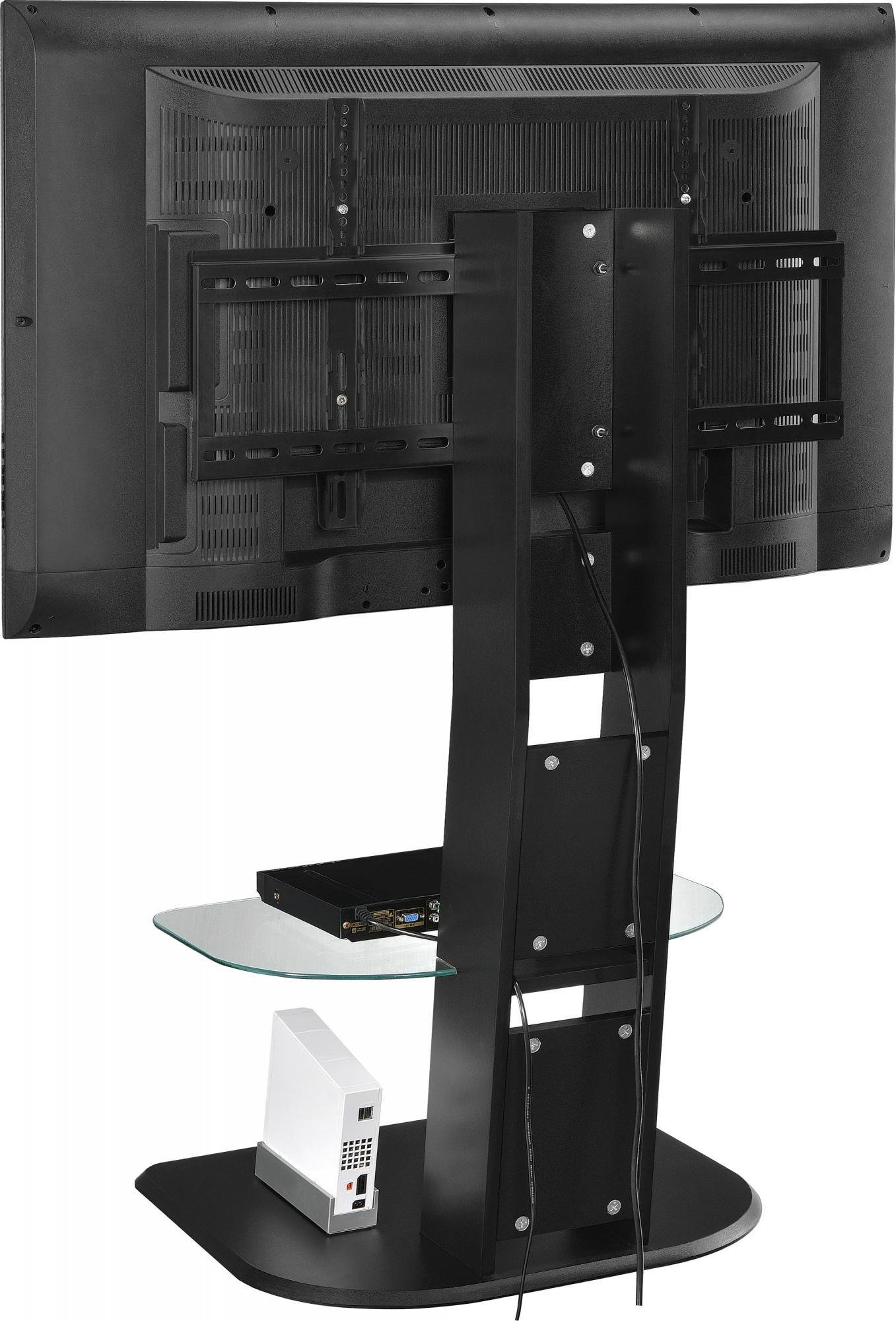 Ameriwood Home Galaxy TV Stand with Mount for TVs up to 50'', Black by Ameriwood Home (Image #4)