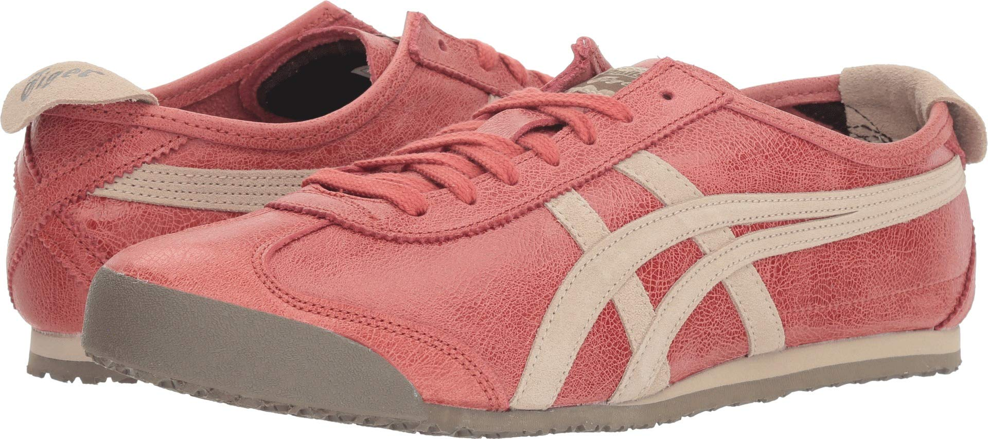 buy online 88d00 a8e90 Onitsuka Tiger Unisex Mexico 66¿ Red Brick/Feather Grey 12 Women / 10.5 Men  M US -